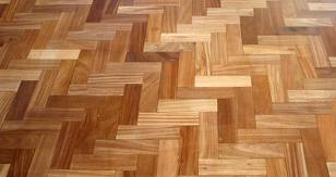 Block hardwood flooring supplied by Hume Hardwood Flooring